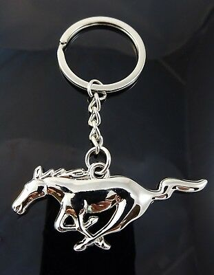 ford mustang schl sselanh nger key ring keychain. Black Bedroom Furniture Sets. Home Design Ideas