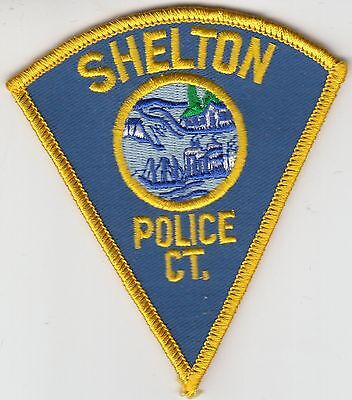 Shelton Connecticut Ct Police Patch