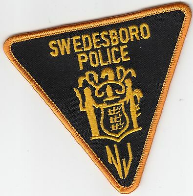 Swedesboro Police Shoulder Patch New Jersey Nj