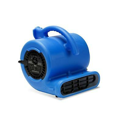 Blue Air Mover 1/5 HP Water Damage Restoration Carpet Dryer Floor Blower Fan New