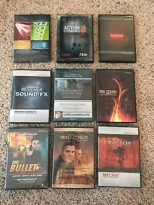 VIDEO COPILOT Bundle Lot