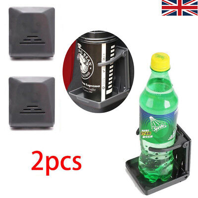 2X Folding Drink Cup Bottle Holder Boat Marine Caravan Car Truck Mount Fish Box