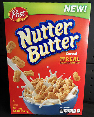 1 x NEW Nutter Butter Cereal 311g - USA