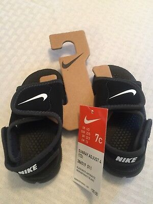 8b449c832fd7 NIKE BOYS SANDALS Size 7C Brand New Sunray Adjust 4  Nice  -  15.00 ...