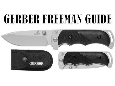 Gerber Freeman Guide Folding Knife, Fine Edge, Drop Point [31-000591]