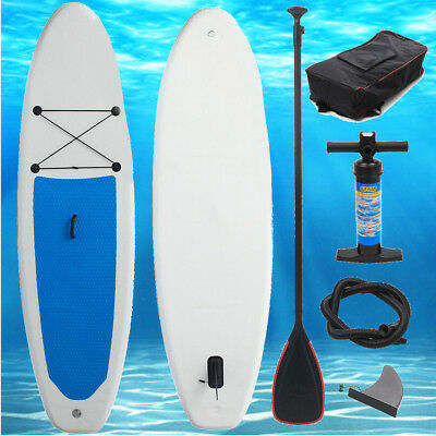 11 x 2.5 ft Stand Up Paddle Surfboard Inflatable Board SUP Set Wave Rider w Pump