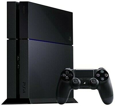 PS4 / Sony Playstation 4 - Konsole 500GB #schwarz + Original Controller + Zub.