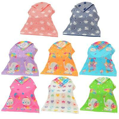 Cotton Bathrobe Baby Unisex Three-layer Gauze Bath Towel Kids Cartoon Towel