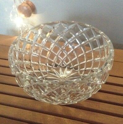 Edinburgh Crystal Fruit Bowl - 30 Years Old - Totally Pristine And Perfect