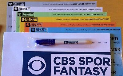 Awesome Brand New 2018 Cbssports Fantasy Football Draft Kit