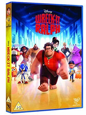 Wreck-It Ralph [DVD] -  CD ECVG The Fast Free Shipping
