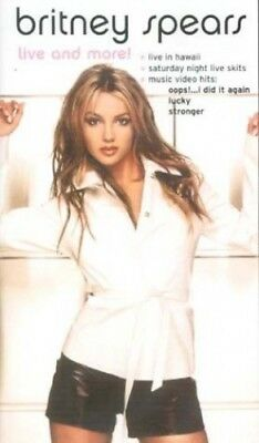 Britney Spears-Live and More [DVD] -  CD 1HVG The Fast Free Shipping