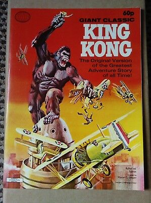 King Kong Giant Classic comic book. 1968. BRAND NEW - OLD STOCK