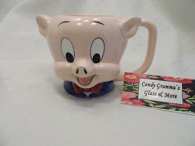 Porky Pig Warner Brothers Looney Tunes 16 oz. Ceramic Coffee Cup / Mug