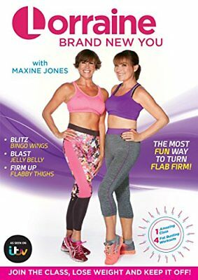 Lorraine Kelly: Brand New You [DVD] [2016] -  CD OEVG The Fast Free Shipping
