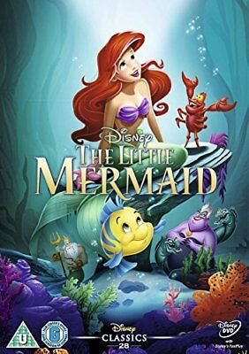The Little Mermaid [DVD] [1989] -  CD GSVG The Fast Free Shipping
