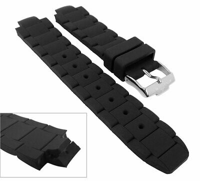 Wrist Watch Band for Jacques Lemans Milano - Made of Silicone 1-1695