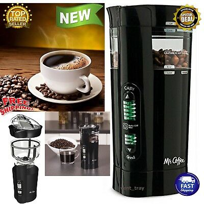 Electric Herb Coffee Grinder Stainless Steel Blades Spices Nuts Machine Bean