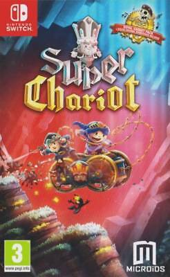 Super Chariot & Royal Gadget Pack With Lenticular Sleeve Switch * NEW SEALED *