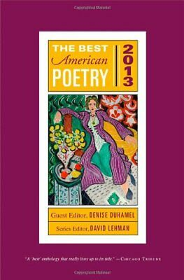 Best American Poetry 2013 by Lehman, David Book The Cheap Fast Free Post
