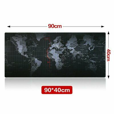 Large Size 90cm*40cm World Map Speed Game Mouse Pad Mat Laptop Gaming Mousepad