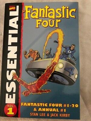 Fantastic Four Essential Volume 1 1st Printing FF issues #1-20 and Annual 1