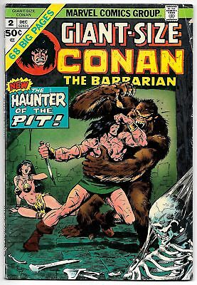 Giant Size Conan the Barbarian #2 (Marvel, 1974) VG/FN