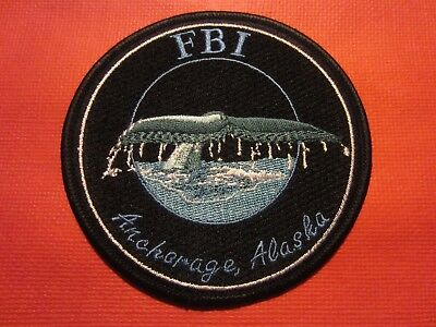 Collectible Alaska FBI Patch,Anchorage,New