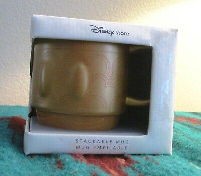 Mickey Mouse Memories Collection Stackable Mug February Disney NIB