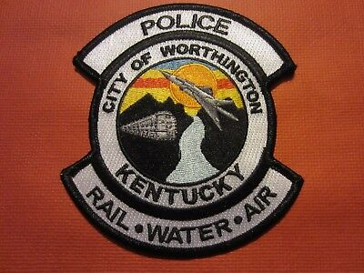 Collectible Kentucky Police Patch, Worthington, New