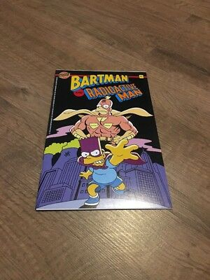Bartman And Radioactive Man #1  Comics Bongo Group Hero Illustrated