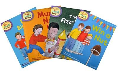 Biff, Chip and Kipper - Level 2 - Stories/Phonics Collection (4 books)