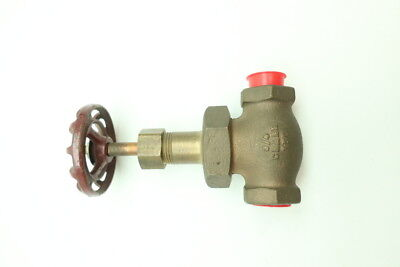 Crane CAT. 7 NO.1 Manual Bronze Threaded Globe Valve 150 3/4in Npt