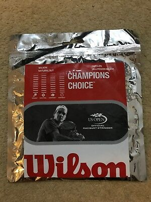 Wilson Champions Choice Natural Gut Racquet String