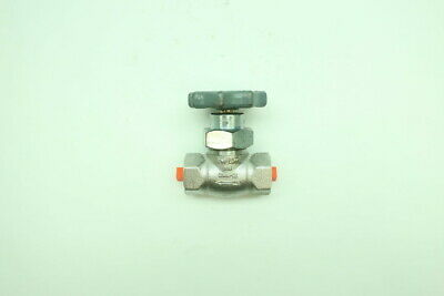 Kerotest 147 Manual Stainless Threaded Needle Valve 1/4in Npt