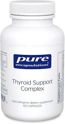 Pure Encapsulations - Thyroid Support Complex - Hypoallergenic Supplement with