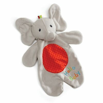 Baby GUND Flappy the Elephant Lovey Plush Stuffed Animal Blanket and Puppet,