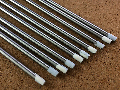 4mm x 150mm White Tip Tungsten 0.8% Zr Zirconiated AC Tig Welding Electrode