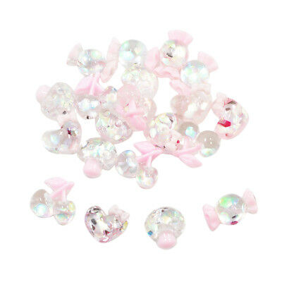 20 RESIN FLAT BACK CHARMS CABOCHON Decoden Embellishment Craft DIY Hair Clip