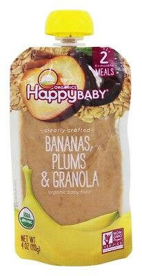 Happy Family - Happy Baby Organic Clearly Crafted Stage 2 Baby Food 6+ Months