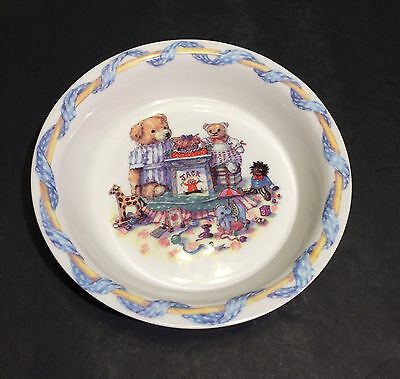 Queen's Fine Bone China  Colour Box  Tales Of Teddies Childs Bowl