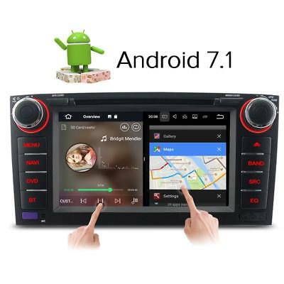 "7"" Android 7.1 Car DVD Player GPS Radio DAB Stereo for Toyota Corolla  2007-2011"