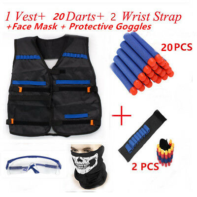 Tactical Vest Suit Kit for Nerf Guns N-Strike Elite Series US Stock Free ship