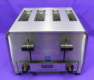 Waring Commercial Heavy Duty Combination Bagel Toaster Model WCT810, 2025 Watts