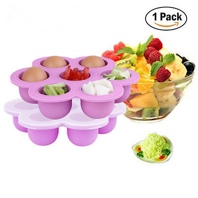 Silicone Silicone Weaning Baby Food Freezer Tray Pots Storage Container B