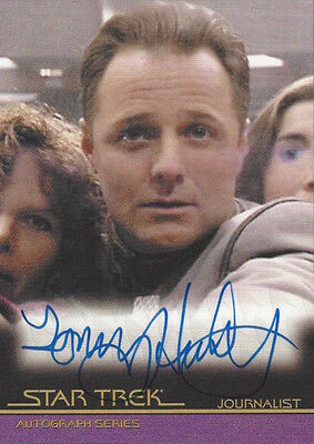 2010 QUOTABLE STAR TREK MOVIES  - AUTOGRAPH A89 Tommy Hinkley