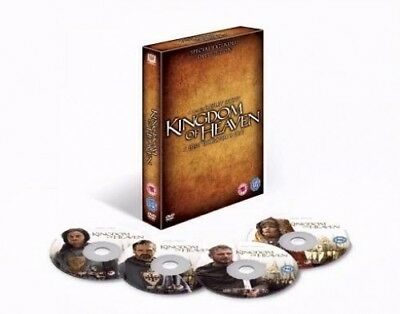 Kingdom Of Heaven (4 Disc Special Extended Director's Cut) [DVD] -  CD 20VG The