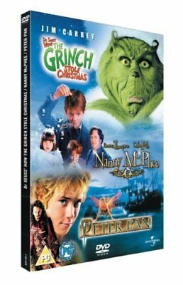 Nanny Mcphee/The Grinch/Peter Pan [DVD] -  CD ACVG The Fast Free Shipping