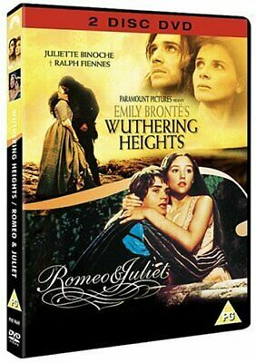 Wuthering Heights (1992) / Romeo and Juliet (1968) [DVD] -  CD 18VG The Fast