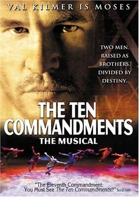 Val Kilmer - The Ten Commandments - The Musical [DVD] -  CD HOVG The Fast Free